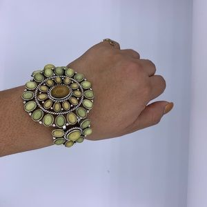 Jewelry - Clip Bracelet | Turquoise Stone